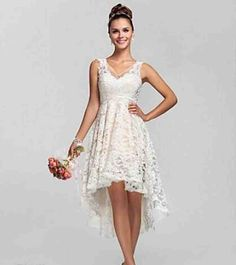 Tea Length Wedding Dresses Under 100