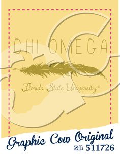 Feather Chi Omega sorority PR #grafcow