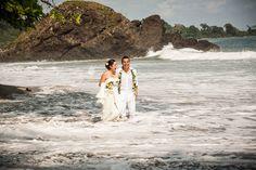 wedding in Playitas Beach, Costa Rica