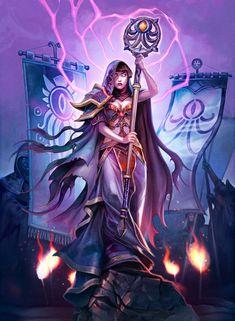 Card Name: Reckoner of Evil Artist: Eva Widermann