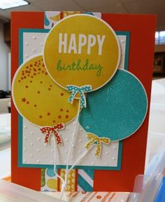 Celebrate Today stamp set by Stampin' Up!  More details on my blog:  www.stampingjourney.com