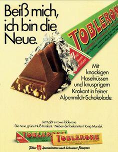 Vintage Toblerone Advertising
