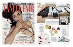 August'15 #VanityFair - #DanielaDallavallexLiselotteWatkins #LiselotteWatkins #danieladallavalle #interview