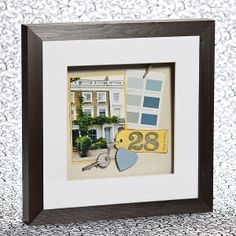 New Home Memory Frame tutorial... great idea =)