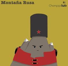 Montaña rusa - Happy drawings :)