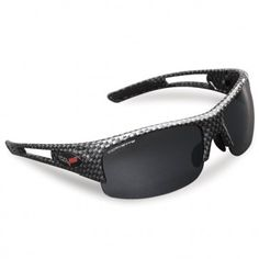 48e82f9132 C6 Corvette Cruise-Around Gloss Black Sunglasses Black Carbon Fiber