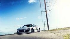 Audi R8 1080p HD Wallpaper Cars