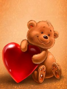 Teddy Bear Animation http://decentscraps.blogspot.com/