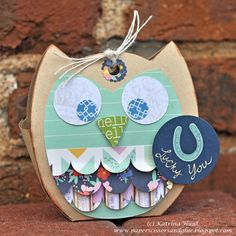 Owl Treat Bag By Katrina Hunt - Scrapbook.com