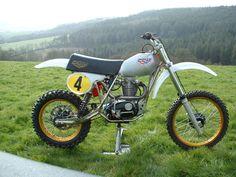 CCM bsa 4valve twinshock 580 1981 classic motocross bike | eBay
