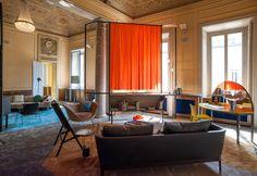 L'installazione multimediale Soft Home at Palazzo Bovara, check Elle Decor Italia and blog.ethnicchic.com for guide Milan Design Week 2016 #salonedelmobile #fuorisalone