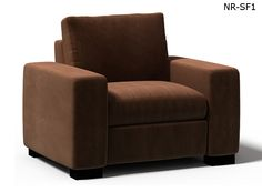 Arm Chair in microfiber selection MF-003