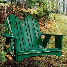 Uwharrie Original Porch Swing Finish: B.T. Mauve (Distressed)