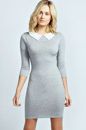 Ellie Collar Bodycon Dress! Idk why I am in love with this!!!