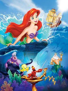 Día 12: Película Animada Favorita: La Sirenita.