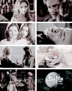 Buffy the Vampire Slayer + Season themes