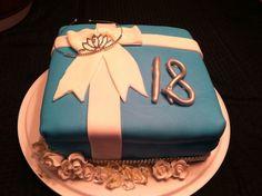 Tiffany cake for 18th birthday