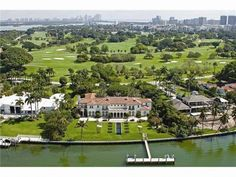 Fabulous Indian Creek Island, A Golf Community! in Indian Creek, Florida, United States Waterfront Homes For Sale, Indian Creek, Miami Houses, Mansions Homes, Condos For Sale, Condominium, Estate Homes, Luxury Real Estate, Miami Beach