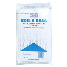 Boil-a-Bags - to take food in and reheat in bag. Saves weight.