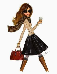 I like fashion illustrations