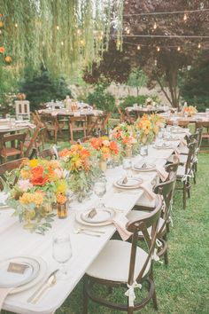 Lovely tabletop! Planned by Catrina Maria Designs, floral design by Scarlett and Grace, photo by Kris Holland Photography | via junebugweddings.com