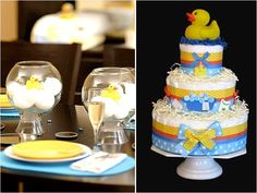 Rubber Duck Theme baby shower baby shower ideas baby boy baby shower images baby shower pictures baby shower photos baby girl ducky baby shower themes rubber duck