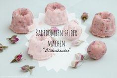 "DIY: Badebomben oder Badekugeln selbermachen ""Blützenzauber"""