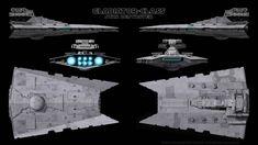 Gladiator-Class Star Destroyer - Schematics by Ravendeviant on DeviantArt Star Wars Planets, Star Wars Ships, Star Wars Art, Star Trek, Nave Star Wars, Star Wars Spaceships, Star Wars Vehicles, Sci Fi Ships, Star Destroyer