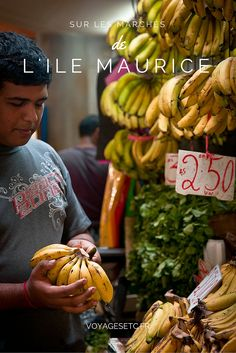 Série de photos prises sur les marchés de l'ile Maurice #voyage #mymauritius