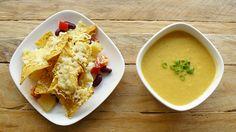 Maïssoep met tortillachips uit de oven | Veggie Variation
