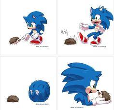 Shadow The Hedgehog, Sonic The Hedgehog, Hedgehog Movie, Hedgehog Art, Sonic Funny, Sonic 3, Sonic And Amy, Sonic Fan Art, Sonic Move