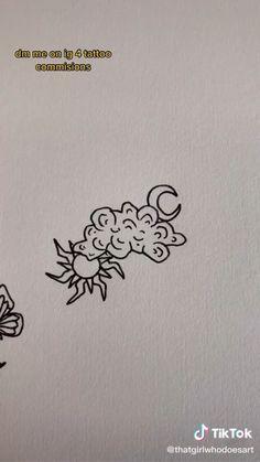 Line Art Tattoos, Dope Tattoos, Pretty Tattoos, Mini Tattoos, Beautiful Tattoos, New Tattoos, Small Tattoos, Tattoo Chart, Tattoo Now