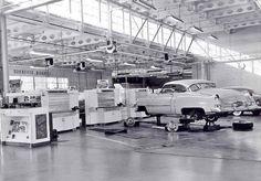 1950's Cadillac dealership service dept.