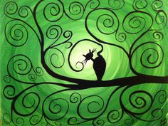 "Week 9................................................. ***********""Halloween Cat Sillouette""*** 5th grade"