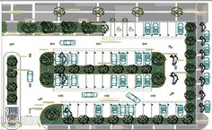 Landscaping details with car parking plot of super market dwg file - Cadbull Plans Architecture, Romanesque Architecture, Sacred Architecture, Cultural Architecture, Landscape Architecture Design, Classic Architecture, Landscape Sketch, Residential Architecture, Parking Plan