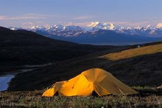 View of the Eastern Alaska Range, from the Talkeetna Mountains