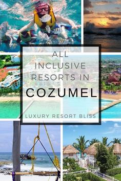 Cozumel All Inclusive Resorts All Inclusive Family Resorts, All Inclusive Vacation Packages, Inclusive Holidays, Best Resorts, Vacation Destinations, Vacation Trips, Luxury Resorts, Family Vacations, Vacation Ideas