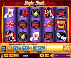 Magic Wand™ is a 5 reel, 25 payline slots game from WMS and currently (Summer 2012) only available at Jackpot Party Casino, a wholly owned subsidiary of Waukegan, Illinois based WMS.