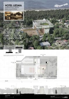 [A3N] :  The international Hotel Liesma design competition ( Jurmala, Latvia ) ( 1st prize ) / VENTURA TRINDADE architects (  Lisbon, Portugal )