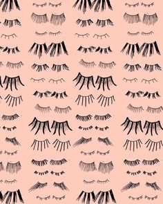 All the lashes