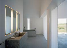 Design badkamer: de charmes en de eenvoud van beton in de badkamer