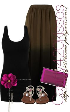 """""""maxi"""" by candy420kisses on Polyvore"""