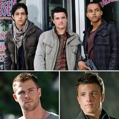 Josh H got to work with both Hemsworth brothers. all three of them are so hot! Though, we all know which I'd choose if I had to! Dawn Movie, Movie Tv, Movies Showing, Movies And Tv Shows, Patriotic Movies, Hemsworth Brothers, Chris Hemsworth Thor, The Best Films, Famous Faces