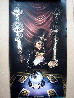 Steampunk Priestess Tarot By Barbara Moore