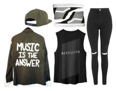 """Just something quick"" by deaththeghoul ❤ liked on Polyvore featuring Topshop, Vans and Nixon"