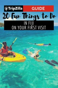 Fiji is teeming with things to do, from adrenaline adventures, island hopping, exploring villages and much more! This list will get you started.
