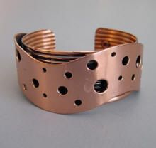 Copper Jewelry Rebajes Renoir Matisse : Morning Glory Jewelry