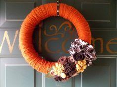 Pumpkin Spice Fall Wreath
