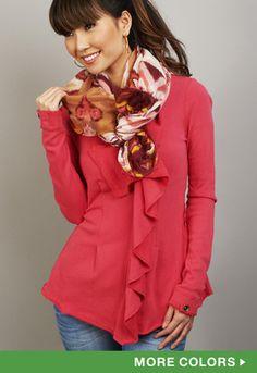 XCVI Reward Sweatshirt is in my closet now !! ❤ | #shopmama #lookbook #spring
