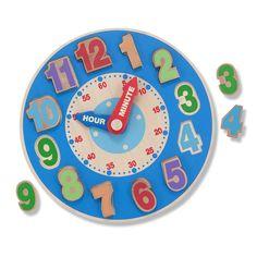 "Melissa & Doug Shape Sorting Clock - Melissa & Doug - Toys ""R"" Us"